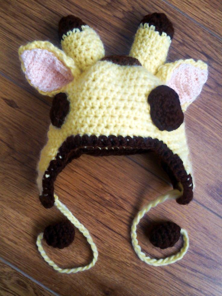 Crochet Giraffe Hat Pattern Free Images Knitting Patterns Free
