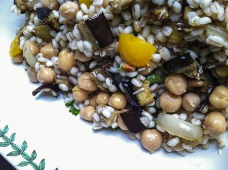 Roasted Vegetable Barley Salad: Toss pretty much any roasted ...