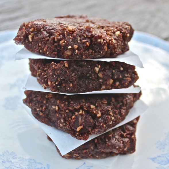 Raw brownies: gluten, dairy & sugar free. This is the easiest recipe ...
