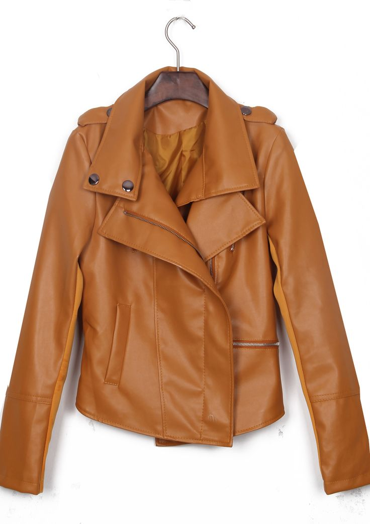 leather jackets... Leather Jackets For Women Light Brown