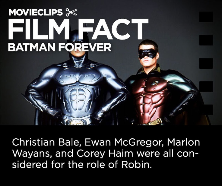 batman and robin facts