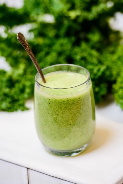 Green Apple Smoothie | Juice Drinks | Pinterest