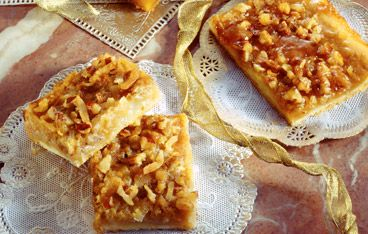 Quick Crescent Pecan Pie Bars | Snack Cakes & Bars | Pinterest