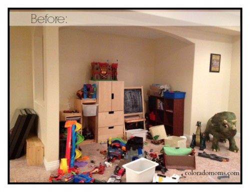 Hear how @ColoradoMoms.com transformed this little nook into the perfect shared space for herself and her kids!