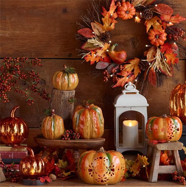 Live Life to the FALLest  QVC  Falling for Fall  Pinterest ~ 115403_Qvc Thanksgiving Decorations