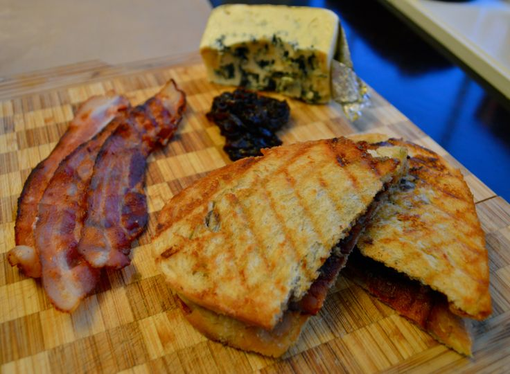 Bacon Blue Cheese Panini | Paninis | Pinterest