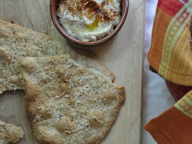 Parmesan-Pink Peppercorn Crisps Recipe — Dishmaps