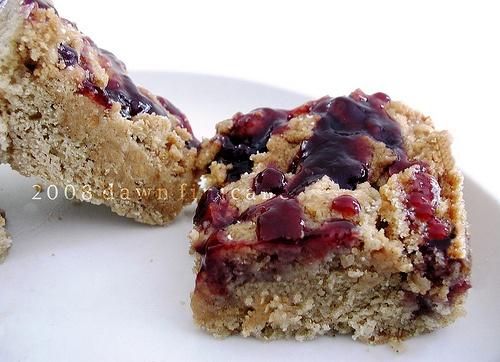 peanut butter amp jelly crumb cake by vanilla sugar blog via flickr