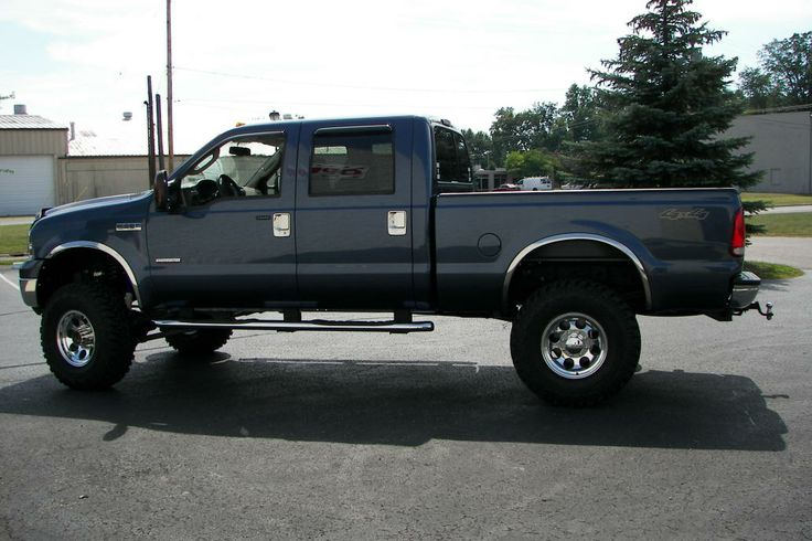 Jacked up Ford Truck | Sex | Pinterest