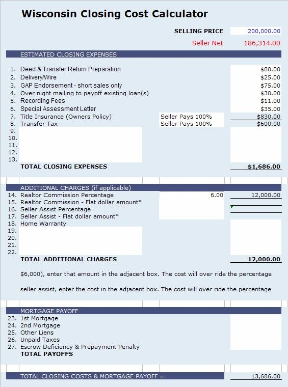 payroll calculator wi