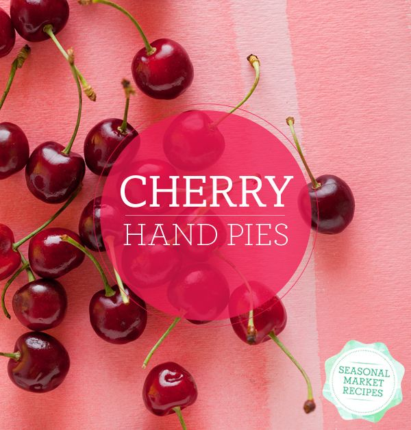 Cherry hand pies | Sweet | Pinterest