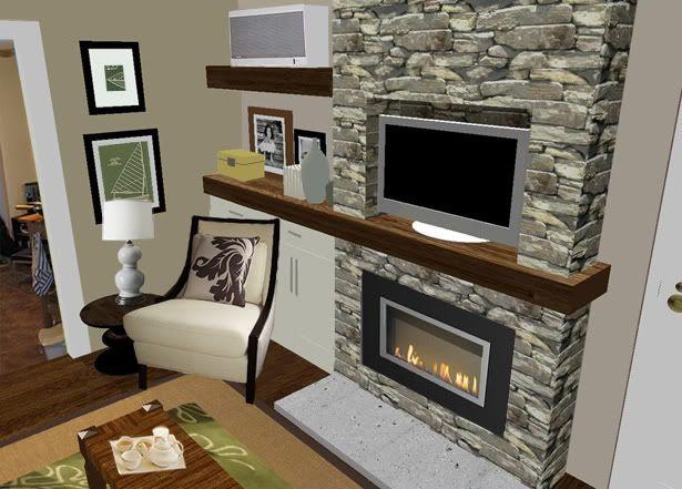 False Wall Designs For Tv : False wall ideas ask home design