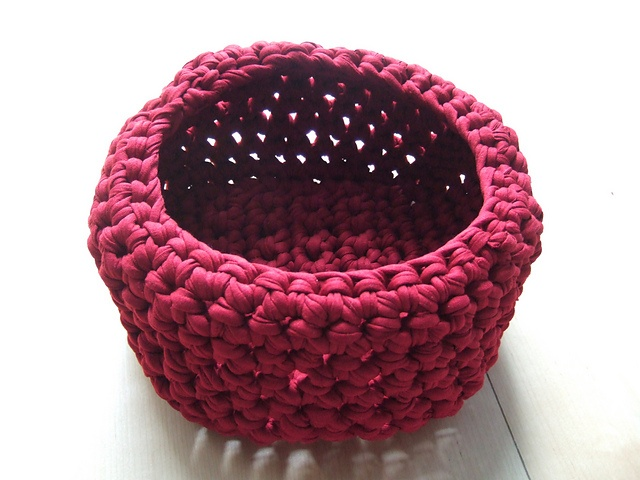 Free Crochet Patterns Zpagetti : Ravelry: Zpagetti Basket free crochet pattern by Bianca Gerwien