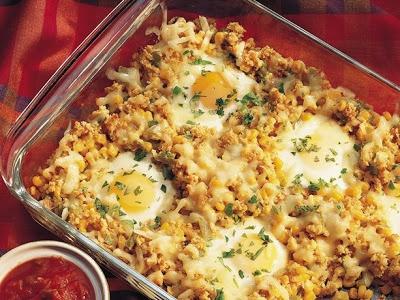 Southwestern Egg Bake | Breakfast | Pinterest