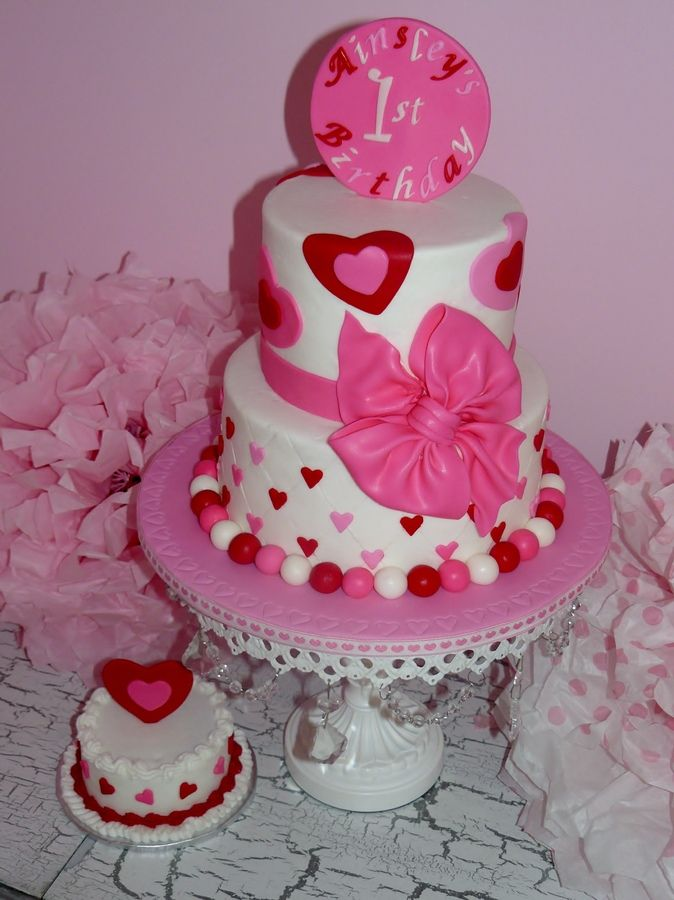 1st Birthday Cakes for Girls ... Party Ideas Pinterest