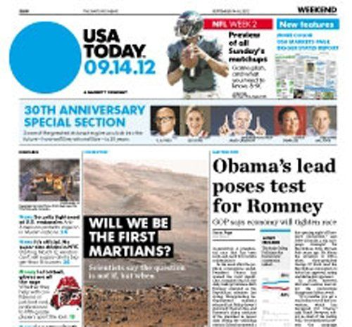 USA Today : the Nations Newspaper - 1 Year Subscription/