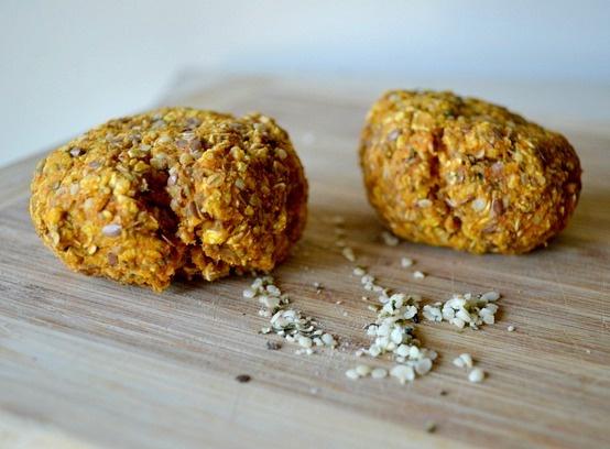 talk to food: Pumpkin Hemp Breakfast Cookies