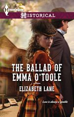 Elizabeth Lane's Sneaky Peek THE BALLAD OF EMMA O'TOOLE
