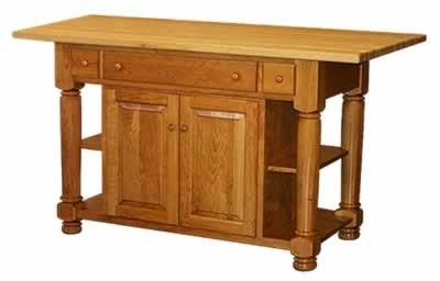 Turned leg cabinet island for the home pinterest