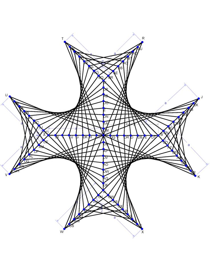Simple Straight Line Art Designs : Math geometric art string fractals pinterest