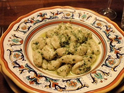 Gnocchi al pesto (with notes on how to make gnocchi from scratch ...