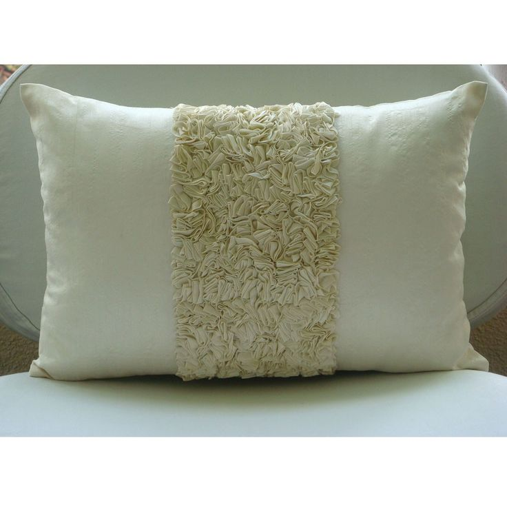 Decorative Oblong Lumbar Throw Pillow Covers Accent Pillow Couch Sofa