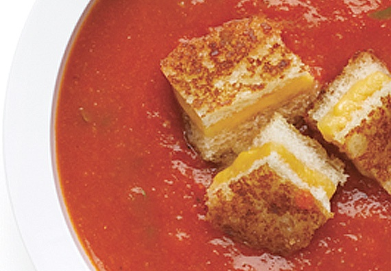 grilled cheese croutons | calorie | Pinterest