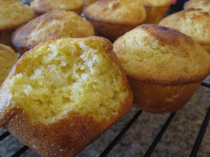 Corn Bread Muffins | Baking | Pinterest
