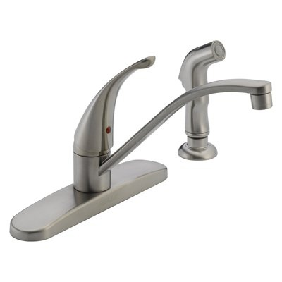 Peerless Faucets : Peerless Faucet P188500LF-SS Single Handle Kitchen Faucet