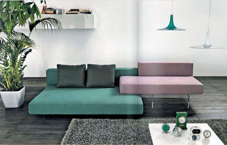 Teal And Purple Sofa Interior Design Living Room