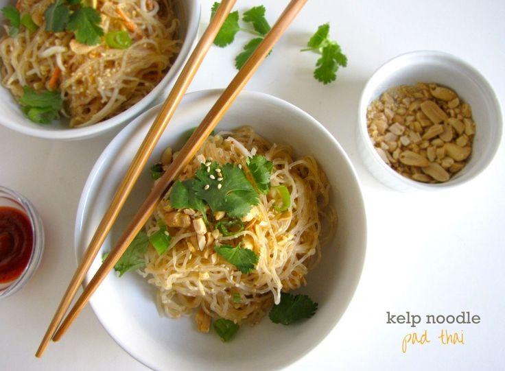 thai raw noodle kelp pad free Noodle thai, kelp noodles pad Kelp thai, raw Padthai, gluten pad