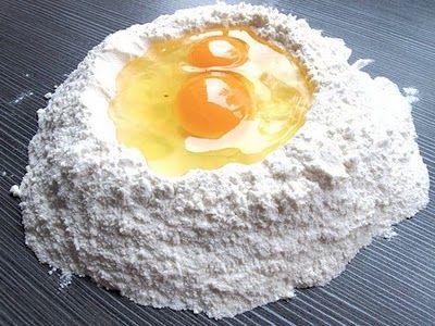 Girelle di Pasta all'Uovo con Prosciutto Cotto e Besciamella da fare ...