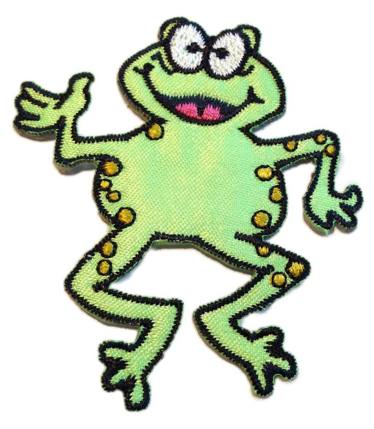 Patch Frog Dancing Cartoon