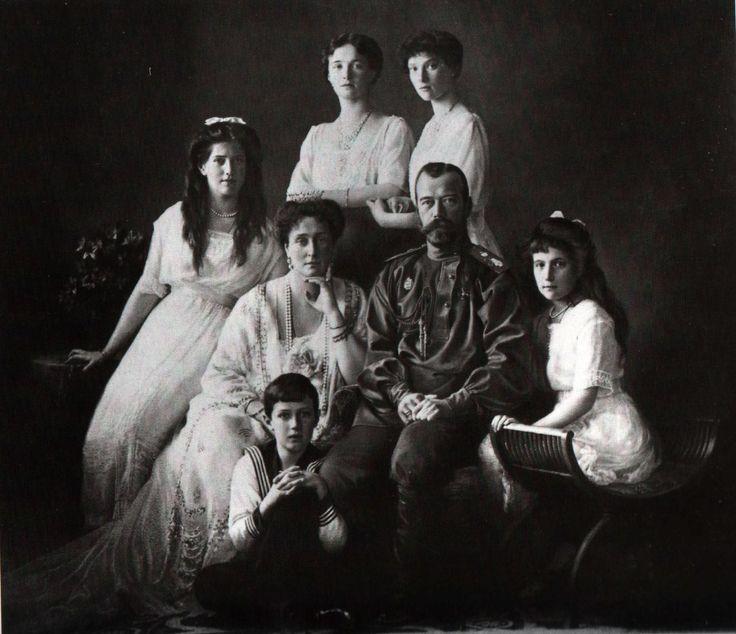 The Romanov Imperial family 1913