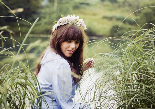 Flower crown | Hairdos | Pinterest