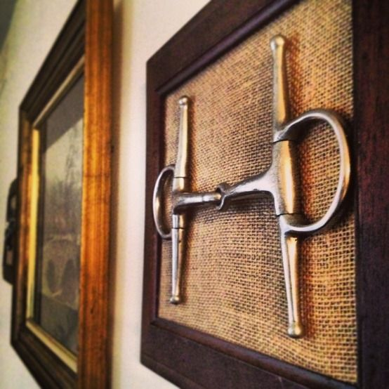 Equestrian decorating ideas crafty ideas diy home for Horse decorations for home