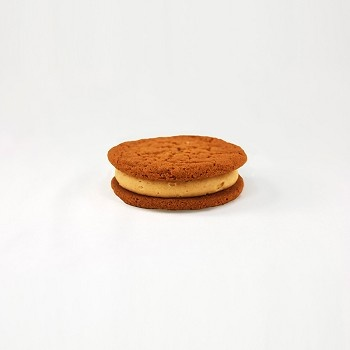 is made with chewy ginger snap cookies smooshed together with cinnamon ...