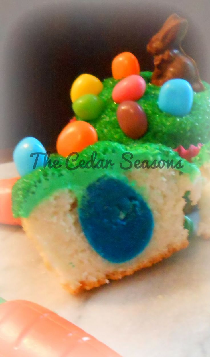 Easter Surprise Inside Cupcake | Holiday | Pinterest