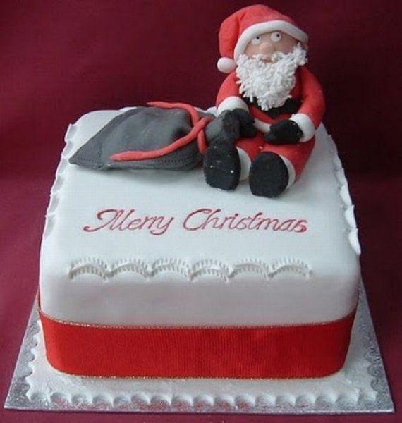Santa Christmas Cake Decoration Ideas cake decorating ...