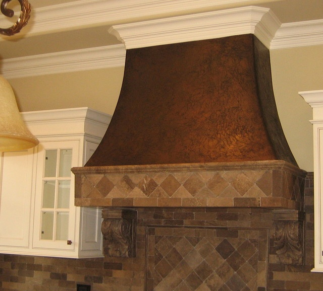 Faux Copper Hood For The Home Pinterest