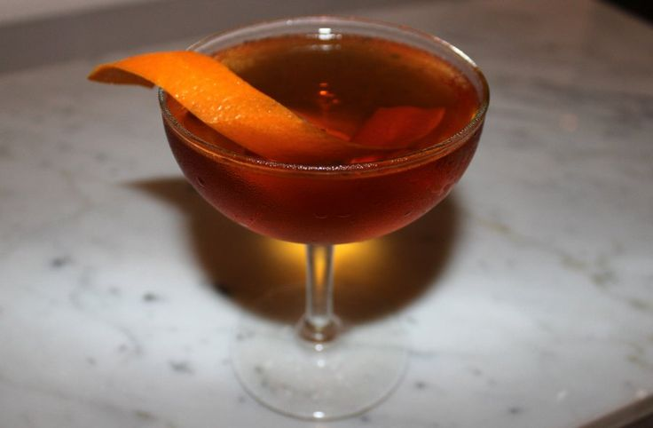 The complex Martinez cocktail is the predecessor to what became todays ...