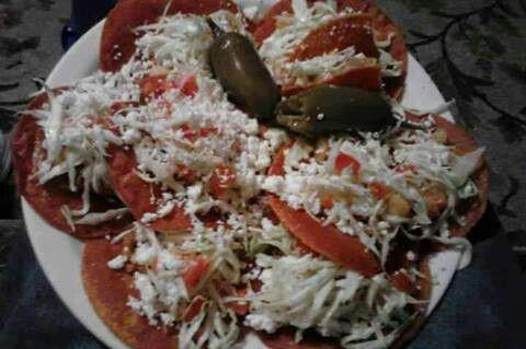 Enchiladas Potosinas. | Mexican food. | Pinterest