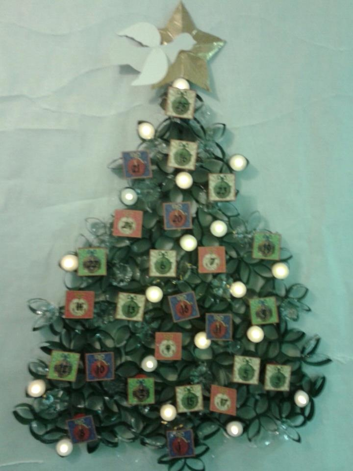 Contest decorating door winner christmas tree http www pinterest com
