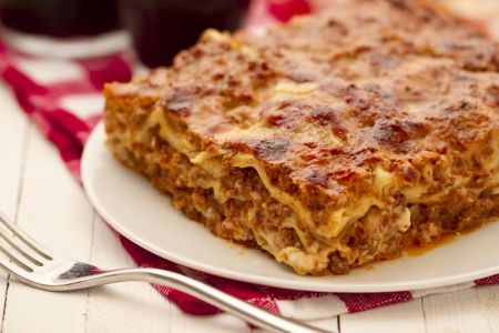 Lasagne alla Bolognese here the link to the video recipe , in English ...