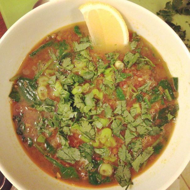 Curried Lentil Soup | Soup and Sandwich | Pinterest
