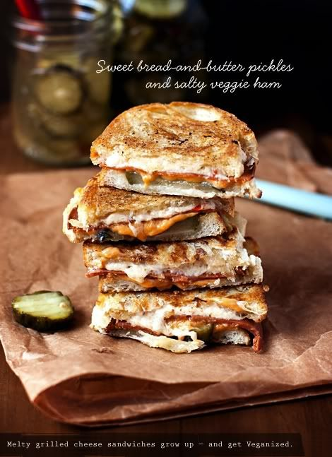 EASY DELICIOUS VEGAN | Grown-up Grilled Cheese Sandwiches