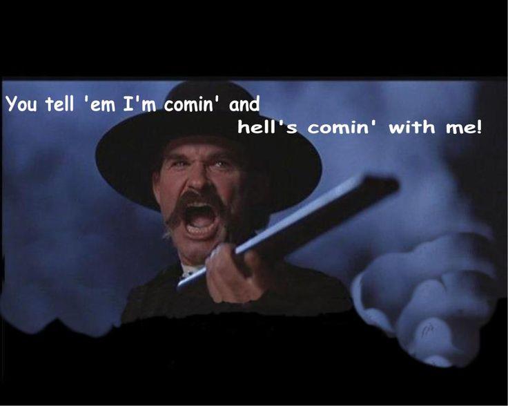 famous movie quotes tombstone quotesgram