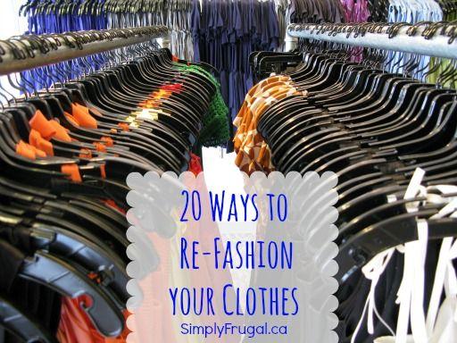 fake beats 20 Ways to Refashion Clothes