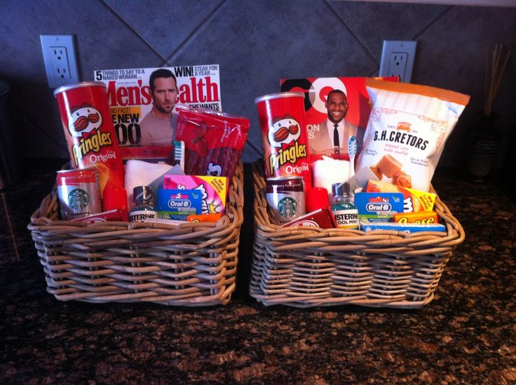 Wedding Gift Basket Ideas For Guests : Found on becausesometimeslifehappens.blogspot.ca