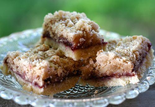 raspberry streusel bars | Mmmmm | Pinterest